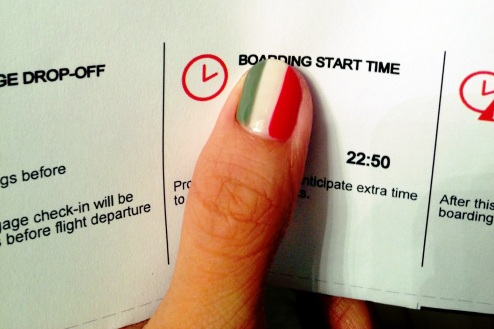 feature - post 3 Italian flag manicure