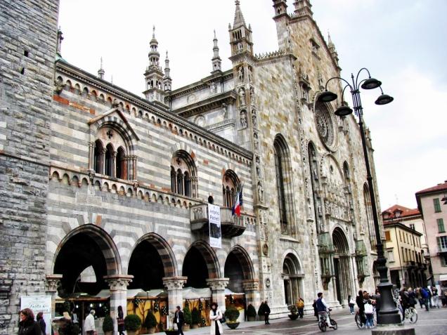 Piazza Duomo in Como