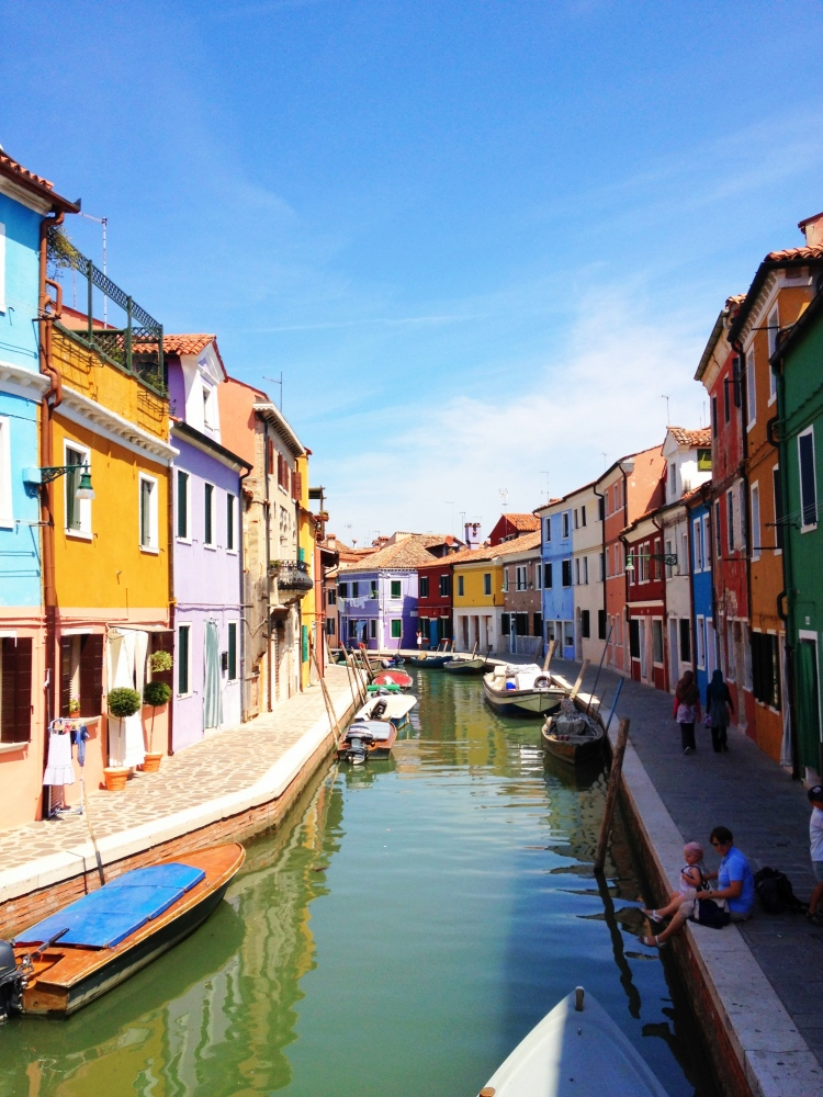 The colorful community of Murano