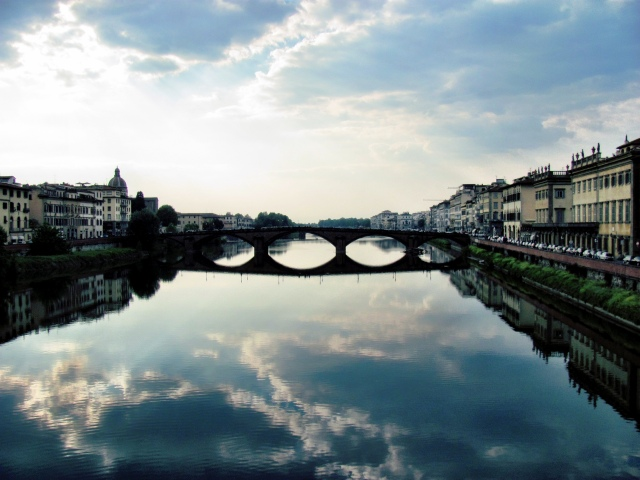 reflection - ponte alla carraia