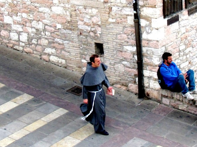 Missionary in Assisi