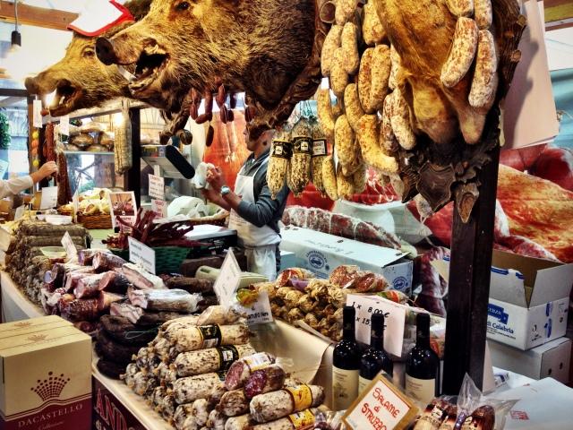 Cold cuts in the fresh market, Como