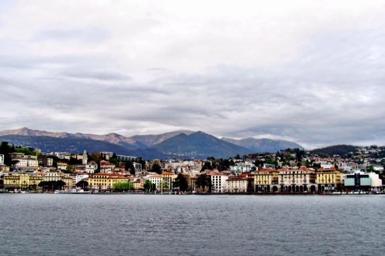On the boat tour of Lake Lugano