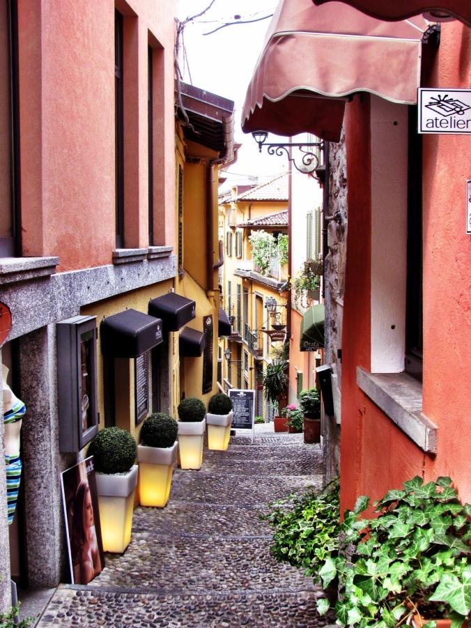 Walking in Bellagio