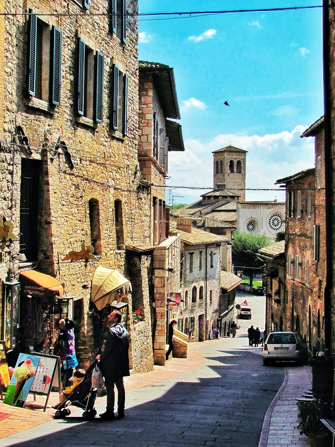Street in Assisi