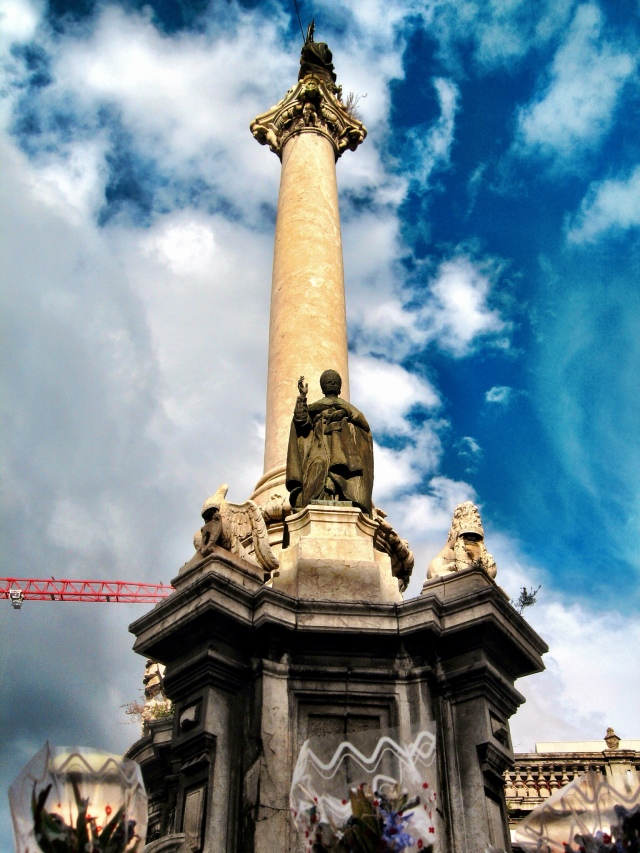 Under the blue sky of Palermo