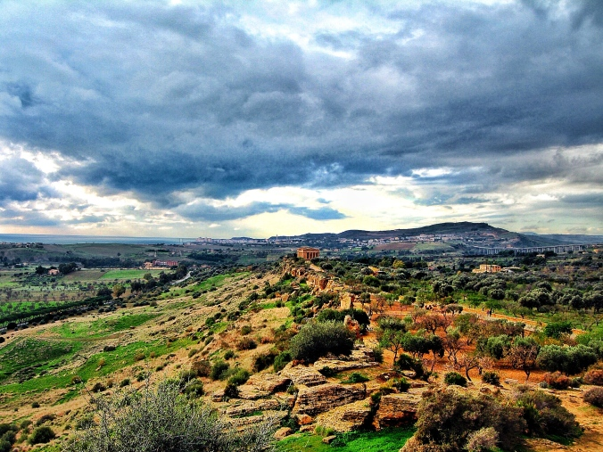 exotic and ancient look of agrigento