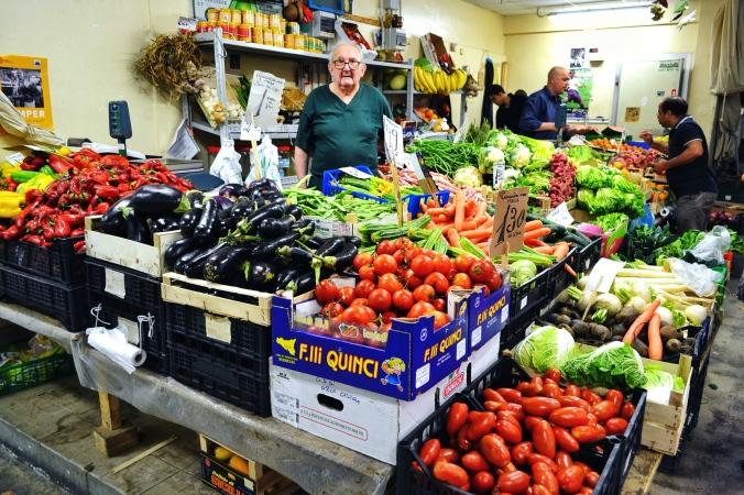 post 44 grandpa in fresh vegetable market