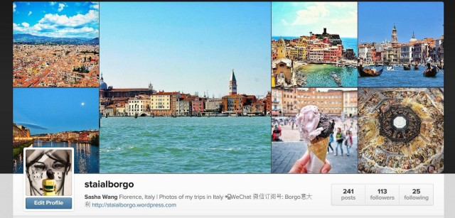 Stai Al Borgo Instagram banner