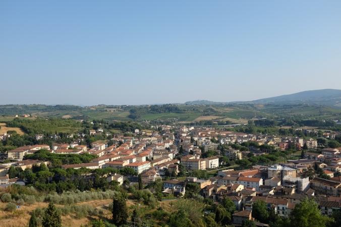 View of Certaldo Alto