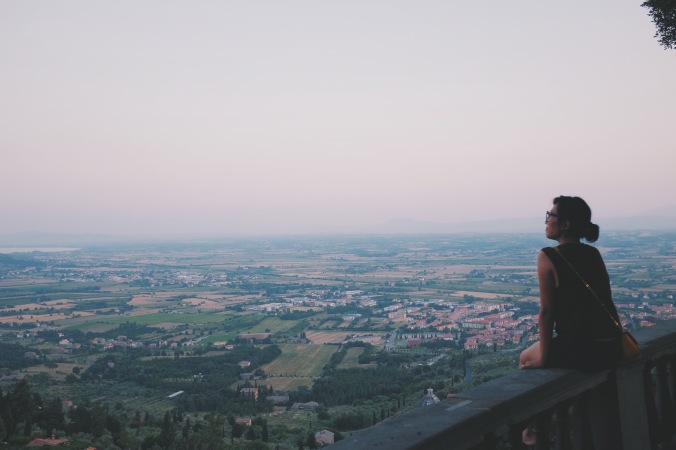 Looking at Cortona, I start to understand the actress in Under The Tuscan Sun, why she moves here despite all the cliché