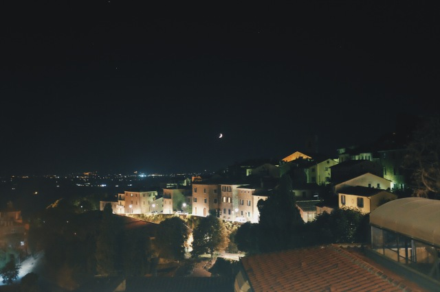 Night in Cortona