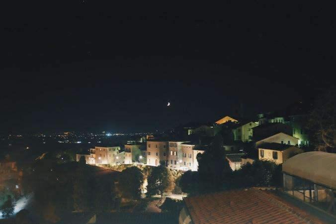 Night in Cortona