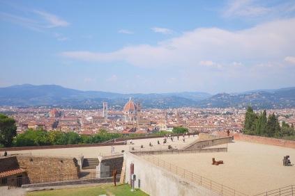 panorama of florence