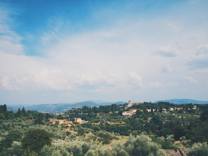 the countryside part of Florence