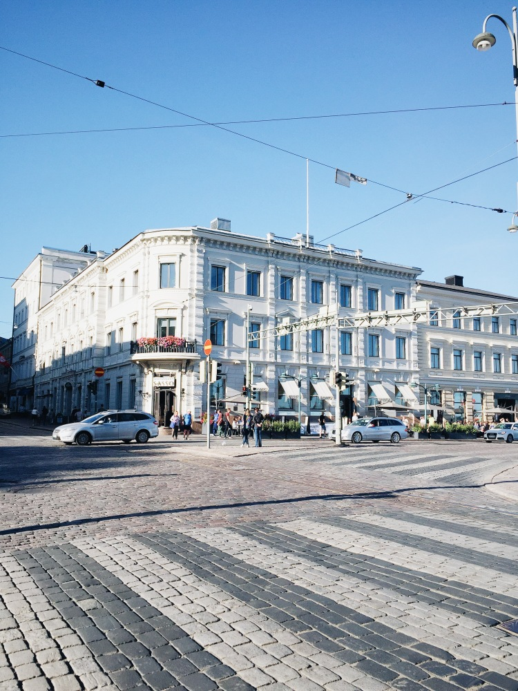 just arrived in Helsinki