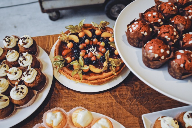 dessert at brunch la menagere