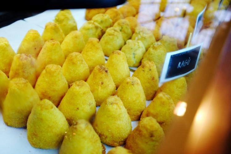 Il Mercato Centrale street food arancino 2
