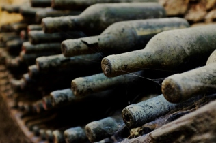 old old bottles