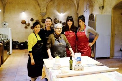 pasta making with the guru, nonna adriana