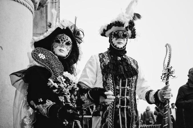 Venice Carnival Piazza San Marco