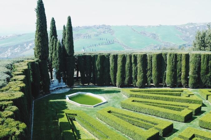 La Foce Garden