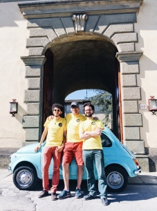 Our drivers from We Like Tuscany