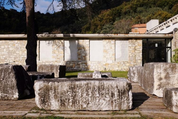 marble quarry trip Carrara