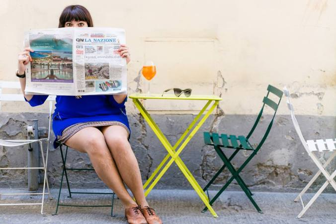 #5QuestionsTo Girl In Florence