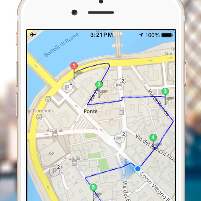 city walk on GPSmyCity